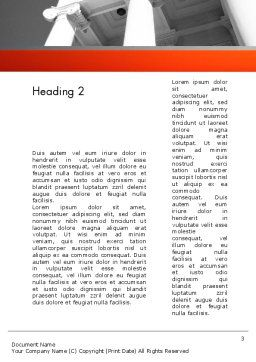 Court Building Word Template, Second Inner Page, 11735, Legal — PoweredTemplate.com