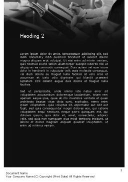 Corporate Training Word Template Second Inner Page