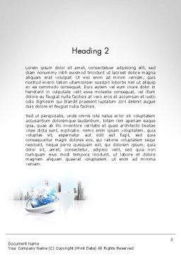 Corporate Presentation Word Template, Second Inner Page, 11781, Business — PoweredTemplate.com