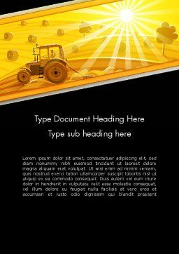 Small Farming Word Template Cover Page