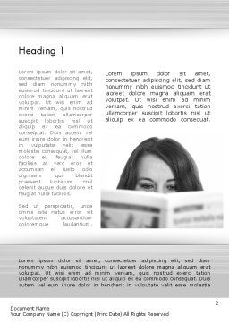 Happy Reading Word Template First Inner Page