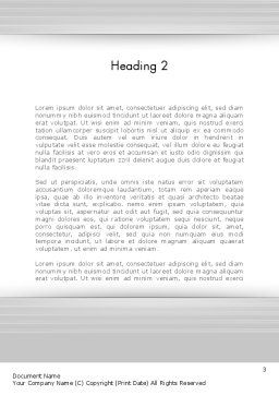 Happy Reading Word Template Second Inner Page