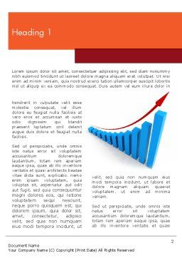 Increasing Sales Word Template, First Inner Page, 11808, Business Concepts — PoweredTemplate.com