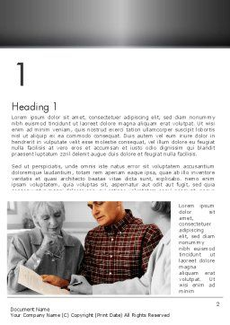 Estate Planning Services Word Template First Inner Page