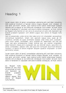 Word WIN Word Template, First Inner Page, 11840, Business Concepts — PoweredTemplate.com