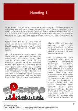 Customer Experience Word Template First Inner Page
