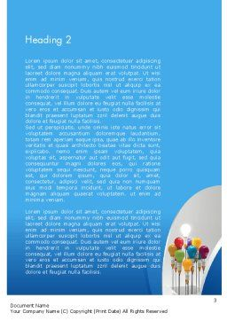 Creative Design Thinking Word Template Second Inner Page