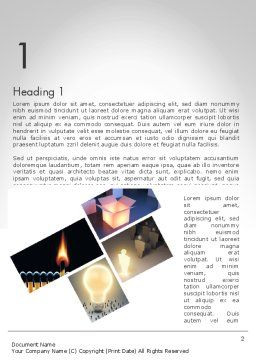 Ideation Word Template First Inner Page