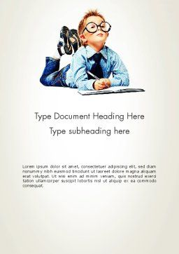 Professional Approach Word Template Cover Page