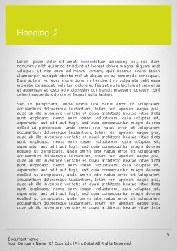 Word RISK Word Template, Second Inner Page, 11964, Consulting — PoweredTemplate.com