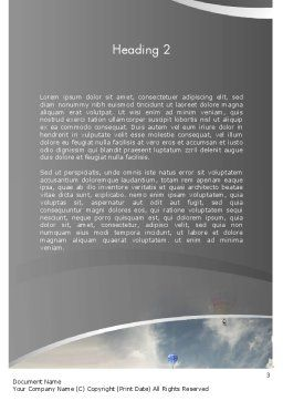 Dream Big Word Template, Second Inner Page, 11965, Education & Training — PoweredTemplate.com