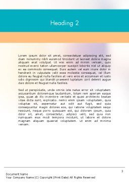 Education Support System Word Template Second Inner Page