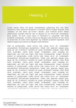 Word HEALTH Word Template, Second Inner Page, 11995, Medical — PoweredTemplate.com