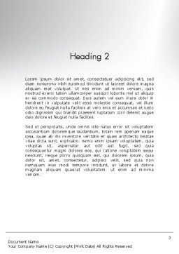 Businessman Climbing Graph Word Template Second Inner Page