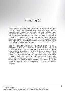 Businessman Climbing Graph Word Template, Second Inner Page, 12017, Education & Training — PoweredTemplate.com