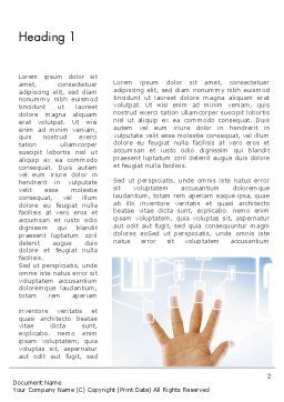 Human Resource Management System Word Template First Inner Page
