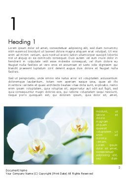 Breath of Spring Word Template First Inner Page