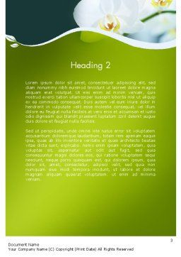 Breath of Spring Word Template Second Inner Page
