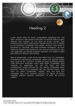 Business Incubator Word Template Second Inner Page