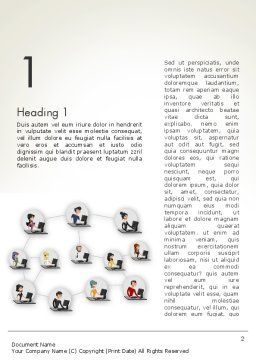 Telemarketing Word Template First Inner Page