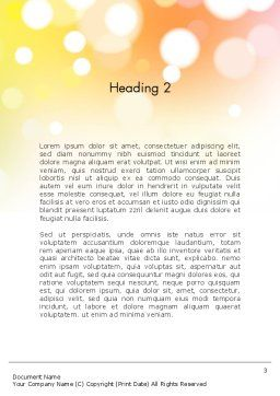 Love Brazil Word Template, Second Inner Page, 12157, Holiday/Special Occasion — PoweredTemplate.com