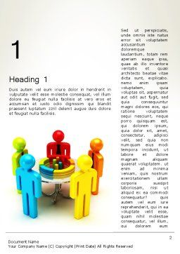 Company Analysis Word Template, First Inner Page, 12190, Consulting — PoweredTemplate.com