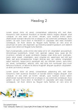 Branding Agency Word Template, Second Inner Page, 12242, Careers/Industry — PoweredTemplate.com
