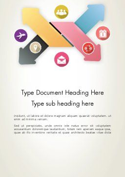Organizing Concept Word Template Cover Page