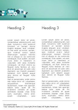 Tuning a System Word Template, Second Inner Page, 12250, Technology, Science & Computers — PoweredTemplate.com
