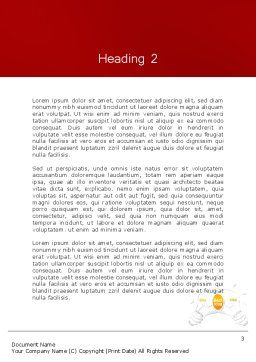 Best Idea Creation Word Template, Second Inner Page, 12260, Business Concepts — PoweredTemplate.com