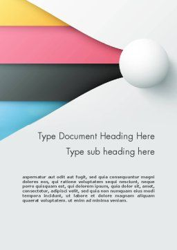 Clean and Modern Company Presentation Word Template 12272 ...