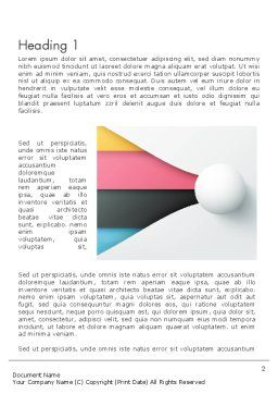 Clean and Modern Company Presentation Word Template, First Inner Page, 12272, Business — PoweredTemplate.com