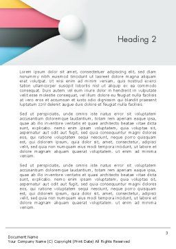 Clean and Modern Company Presentation Word Template, Second Inner Page, 12272, Business — PoweredTemplate.com