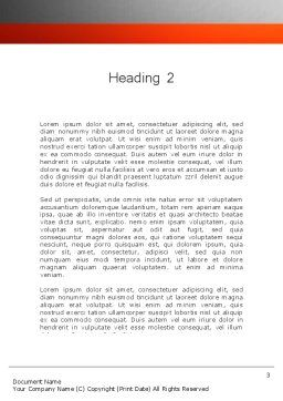 Business Articles Word Template Second Inner Page