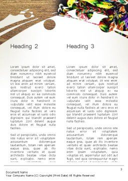 Rubber Band Bracelets Word Template Second Inner Page