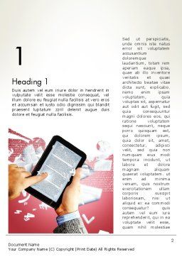 E-reading Word Template First Inner Page