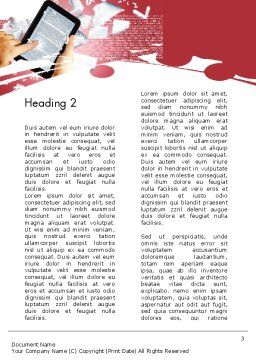 E-reading Word Template Second Inner Page