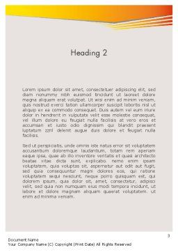 Color Copies Word Template, Second Inner Page, 12329, Careers/Industry — PoweredTemplate.com