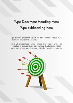 Environmental Target Word Template Cover Page