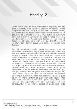 Environmental Target Word Template Second Inner Page