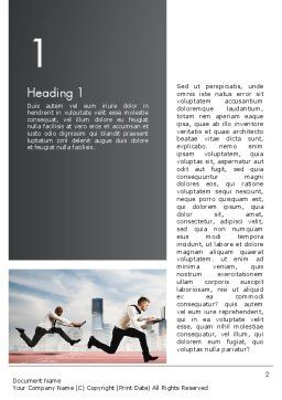 Business Competing Word Template, First Inner Page, 12363, Careers/Industry — PoweredTemplate.com