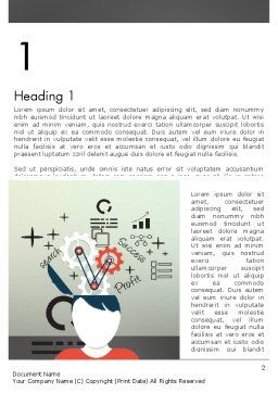 Idea Generating Concept Word Template First Inner Page