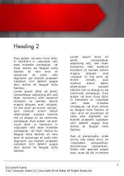 Keep Move On Word Template, Second Inner Page, 12385, Business Concepts — PoweredTemplate.com