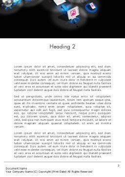 Technology Consulting Word Template, Second Inner Page, 12422, Technology, Science & Computers — PoweredTemplate.com