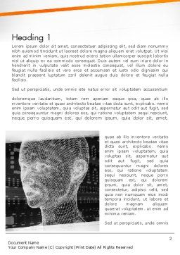 Cyber Hacking Word Template, First Inner Page, 12425, Technology, Science & Computers — PoweredTemplate.com