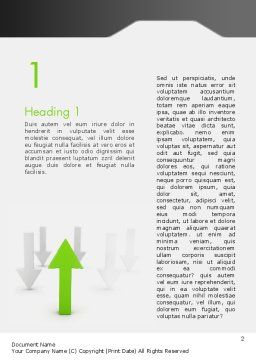 Regulatory Compliance Word Template, First Inner Page, 12463, Consulting — PoweredTemplate.com
