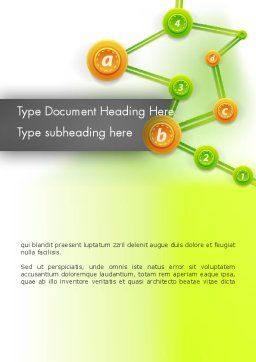Chronological Tree Word Template Cover Page