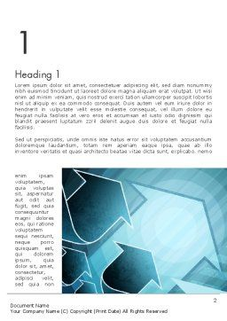 Growing Up Concept Word Template, First Inner Page, 12475, Business Concepts — PoweredTemplate.com