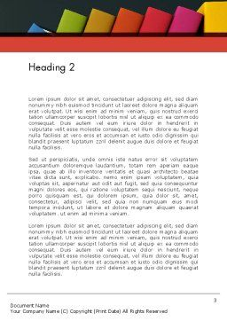 Marketing Psychology Word Template Second Inner Page