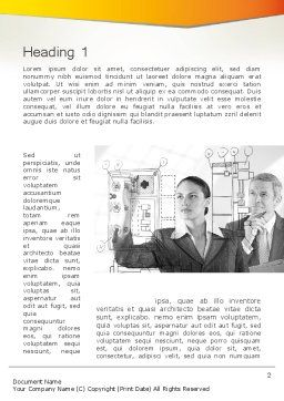 Technology Audit Word Template, First Inner Page, 12534, Consulting — PoweredTemplate.com